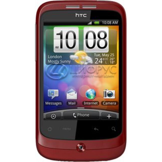 5ee66f8eb9500 Купить HTC Wildfire A3333 Red в Москве – цена смартфона Хтц Wildfire ...