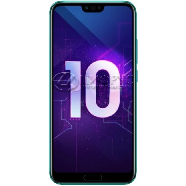 3c42232b9a27b Купить Huawei Honor 10 64Gb+6Gb Dual LTE Green в Москве – цена ...