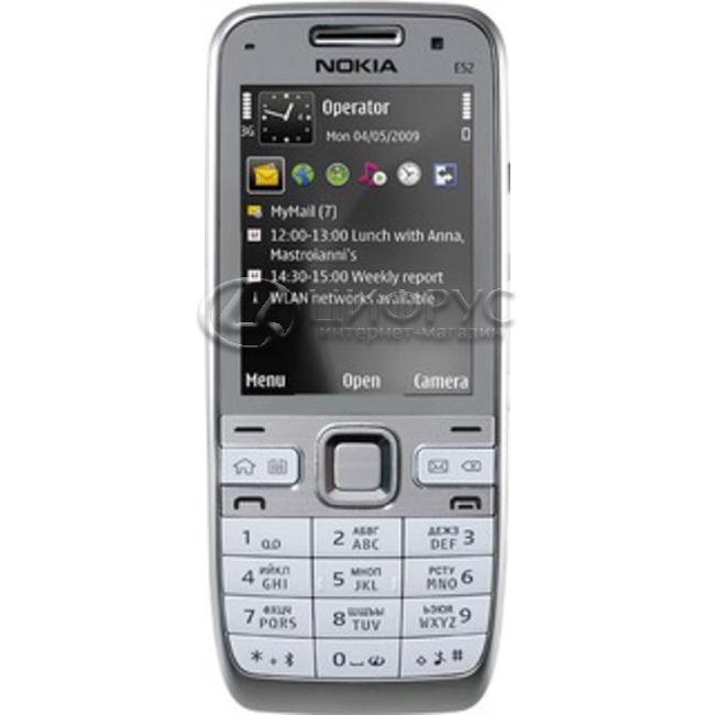 b2076bee23a04 Купить Nokia E52 White Al в Москве – цена смартфона Нокиа E52 Белый ...