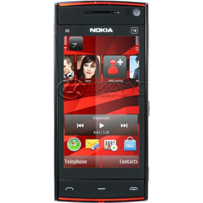 Купить Nokia X6 32Gb Black Red в Москве – цена смартфона Нокиа X6 ... fa7bb9f43e7