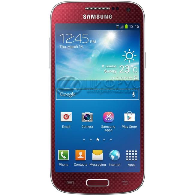 samsung galaxy s4 mini i9192 duos red �а�ак�е�и��ики