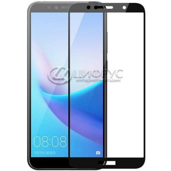 Защитное стекло для Huawei Honor 7C 3d чёрное