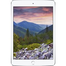 Apple iPad Mini_3 128Gb Wi-Fi Silver White