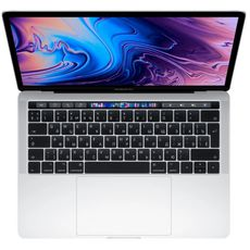 Apple MacBook Pro 13 with Retina display and Touch Bar Mid 2019 (Intel Core i5 2400MHz/13.3/2560x1600/8GB/256GB SSD/DVD нет/Intel Iris Plus Graphics 655/Wi-Fi/Bluetooth/macOS) Silver (MV992RU/A) (РСТ)
