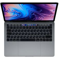 Apple MacBook Pro 13 with Retina display and Touch Bar Mid 2019 (Intel Core i5 2400MHz/13.3/2560x1600/8GB/256GB SSD/DVD нет/Intel Iris Plus Graphics 655/Wi-Fi/Bluetooth/macOS) Space Grey (MV962RU/A) (РСТ)