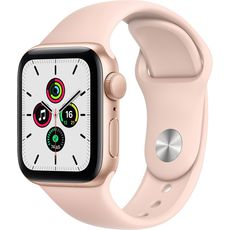 Apple Watch SE GPS 40mm Aluminum Case with Sport Band Gold/Pink (MYDN2RU/A)