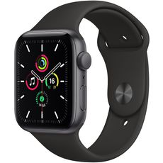 Apple Watch SE GPS 44mm Aluminum Case with Sport Band Grey/Black (MYDT2RU/A)