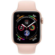 Apple Watch Series 4 GPS 44mm Aluminum Case with Sport Band gold/pink - Цифрус