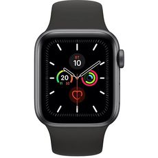 Apple Watch Series 5 GPS 44mm Aluminum Case with Sport Band Grey/Black