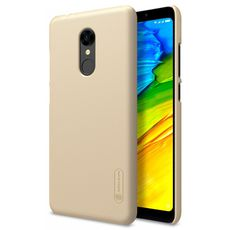 Задняя накладка для Xiaomi Redmi 5 Plus золотая Nillkin - Цифрус