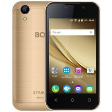 BQ 4072 Strike Mini Gold Brushed