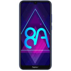 Honor 8A (РСТ) 32Gb+2Gb Dual LTE Blue