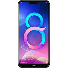 Honor 8C 32Gb+4Gb Dual LTE Black - Цифрус
