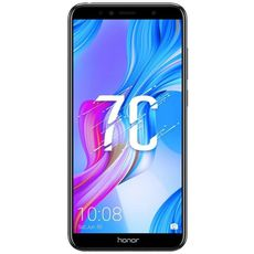 Huawei Honor 7C 32Gb+3Gb Dual LTE Black (РСТ) - Цифрус