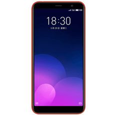 Meizu M6T 16Gb+2Gb Dual LTE Red - Цифрус