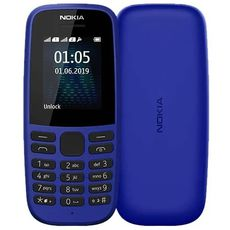 Nokia 105 SS (2019) Blue (РСТ)