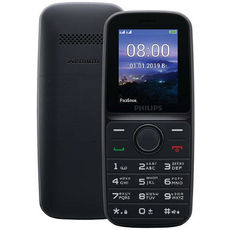 Philips Xenium E109 Black (РСТ)
