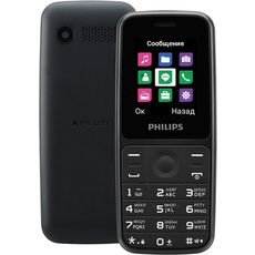 Philips Xenium E125 Black (РСТ)