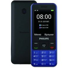 Philips Xenium E182 Blue (РСТ)