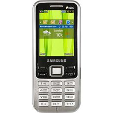 Samsung C3322 Duos Metallic Black