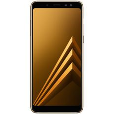 Samsung Galaxy A8+ (2018) A730F/DS 64Gb+4Gb Dual LTE Gold - Цифрус