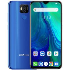 Ulefone Power 6 64Gb+4Gb Dual LTE Blue