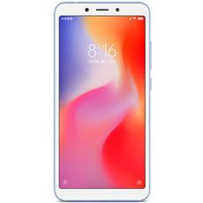 Xiaomi Redmi 6 64Gb+4Gb (Global) Blue - Цифрус