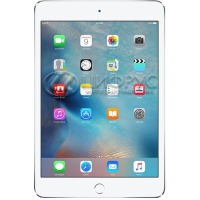 Apple iPad Mini 4 128Gb WiFi Silver White - Цифрус