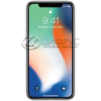 Apple iPhone X 256Gb LTE Silver - Цифрус