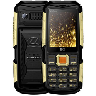BQ 2430 Tank Power Black gold - Цифрус