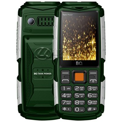 BQ 2430 Tank Power Green+Silver - Цифрус