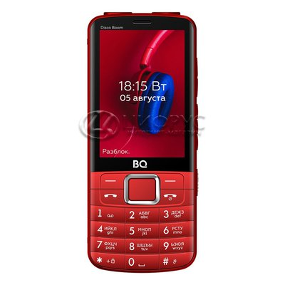 BQ 3587 Disco Boom Red (РСТ) - Цифрус