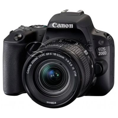 Canon EOS 200D Kit EF-S 18-55mm f/3.5-5.6 DC III Black - Цифрус