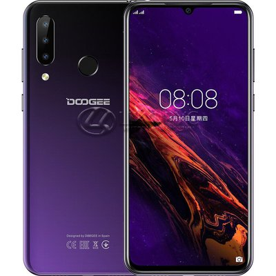 Doogee Y9 Plus 64Gb+4Gb Dual LTE Purple (РСТ) - Цифрус