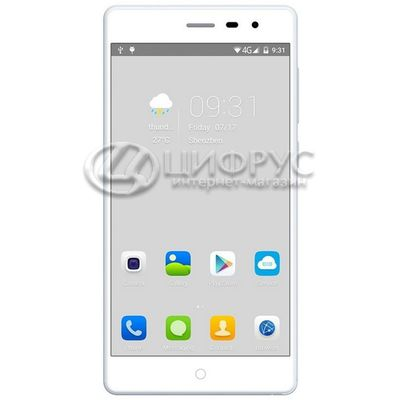 Elephone Trunk 16Gb+2Gb Dual LTE White - Цифрус