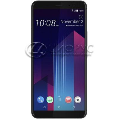 HTC U11 Plus 128Gb Dual LTE Black Ceramic - Цифрус