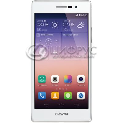 Huawei Ascend P7 16Gb+2Gb LTE White - Цифрус