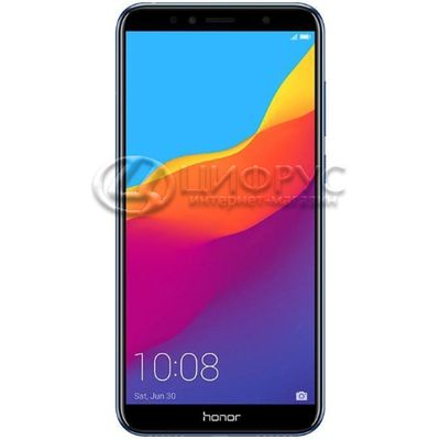 Huawei Honor 7A 16Gb+2Gb Dual LTE Blue (РСТ) - Цифрус