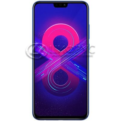 Huawei Honor 8X 64Gb+4Gb Dual LTE Blue - Цифрус