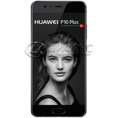 Huawei P10 Plus 256Gb+6Gb Dual LTE Black - Цифрус