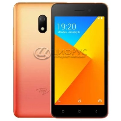 Itel A16 Plus Orange (РСТ) - Цифрус