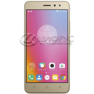 Lenovo K6 Power (k33a42) 16Gb+2Gb Dual LTE Gold - Цифрус