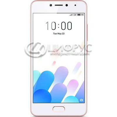 Meizu M5C (M710H) 16Gb+2Gb Dual LTE Pink (РСТ) - Цифрус