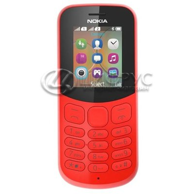 Nokia 130 Dual Sim (2017) Red (РСТ) - Цифрус