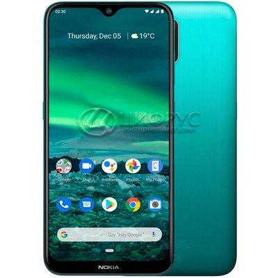 Nokia 2.3 Dual Sim 32Gb+2Gb LTE Green (РСТ) - Цифрус