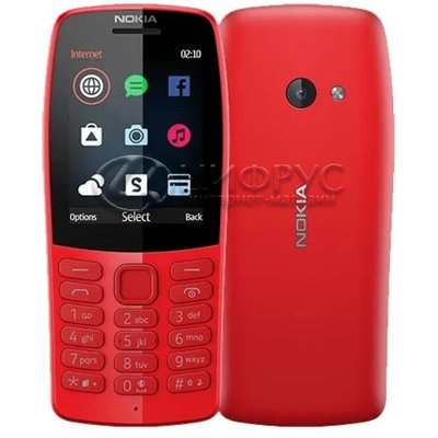 Nokia 210 Red (РСТ) - Цифрус