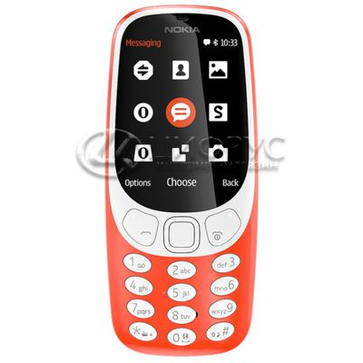Nokia 3310 Dual Sim (2017) Red - Цифрус