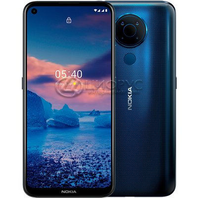 Nokia 5.4 64Gb+4Gb Dual LTE Blue (РСТ) - Цифрус