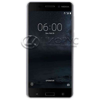 Nokia 6 64Gb Dual LTE Silver - Цифрус