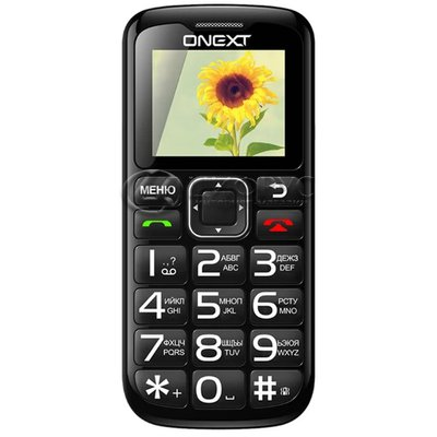 ONEXT Care-Phone 5 Black (РСТ) - Цифрус